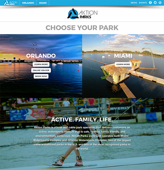 Aktion-Parks-Homepage