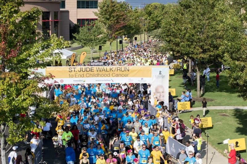 AKTION PARKS SUPPORTS ST. JUDE'S WALK/RUN