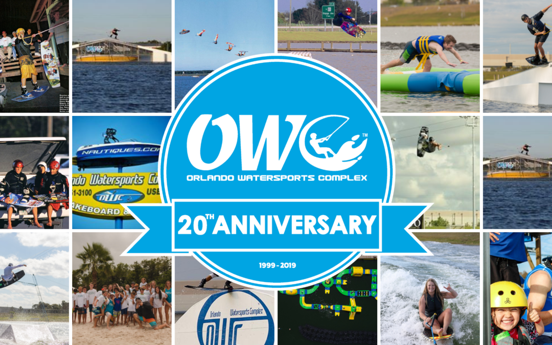ORLANDO WATERSPORTS COMPLEX TO CELEBRATE 20TH ANNIVERSARY