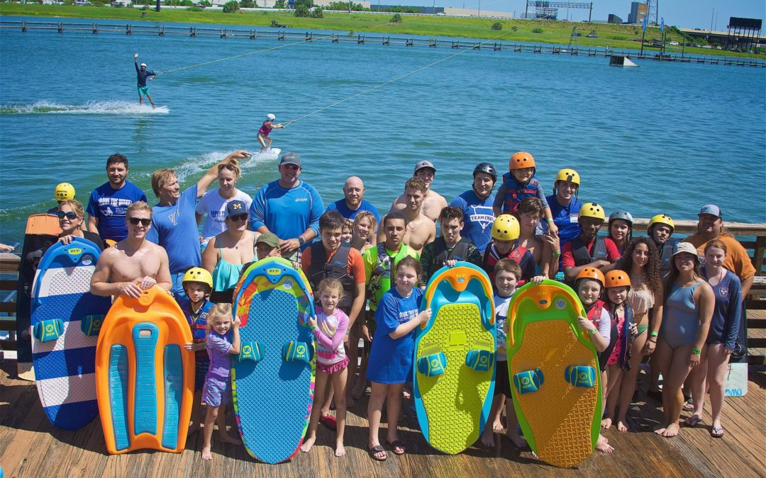 ORLANDO WATERSPORTS COMPLEX HELPS DISABLED KIDS GET ON THE WATER