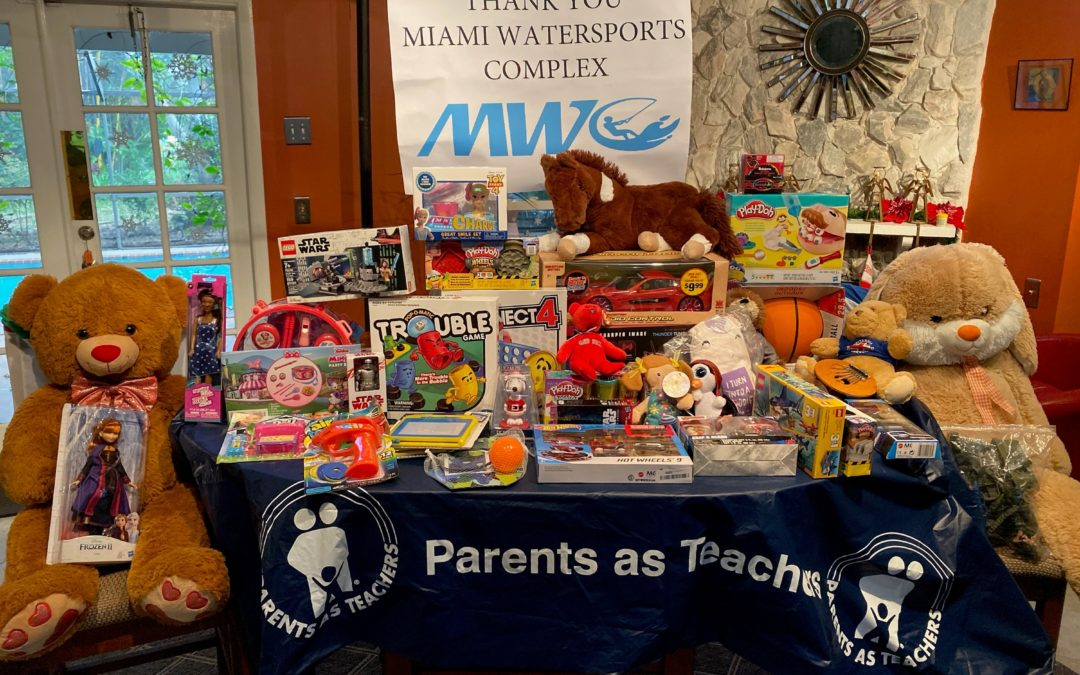 AKTION PARKS SUPPORTS COMMUNITY WITH TOY DRIVE