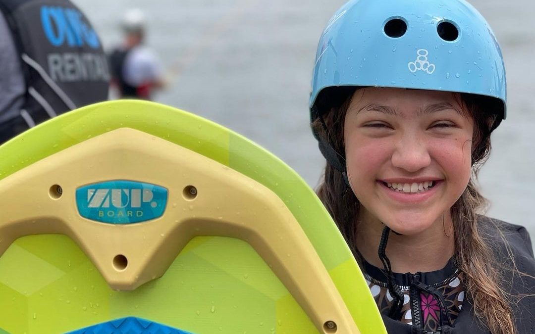 ORLANDO WATERSPORTS COMPLEX TEACHES AUTISTIC CHILDREN HOW TO RIDE