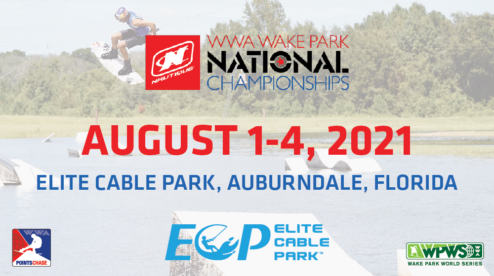 ELITE CABLE PARK BRINGS NATIONAL WAKEBOARD EVENT TO AUBURNDALE IN AUGUST